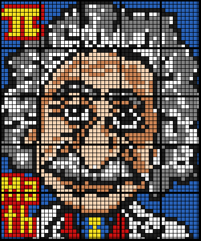 Einstein Cartoon (25 Worksheet Mosaic)