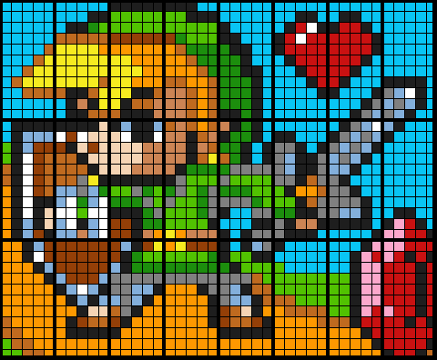 Link from Zelda (24 Worksheet Mosaic) - All types of linear equations