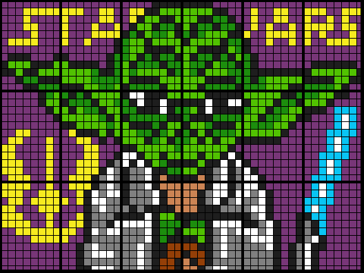 Yoda (18 and 38 Worksheet Mosaics)